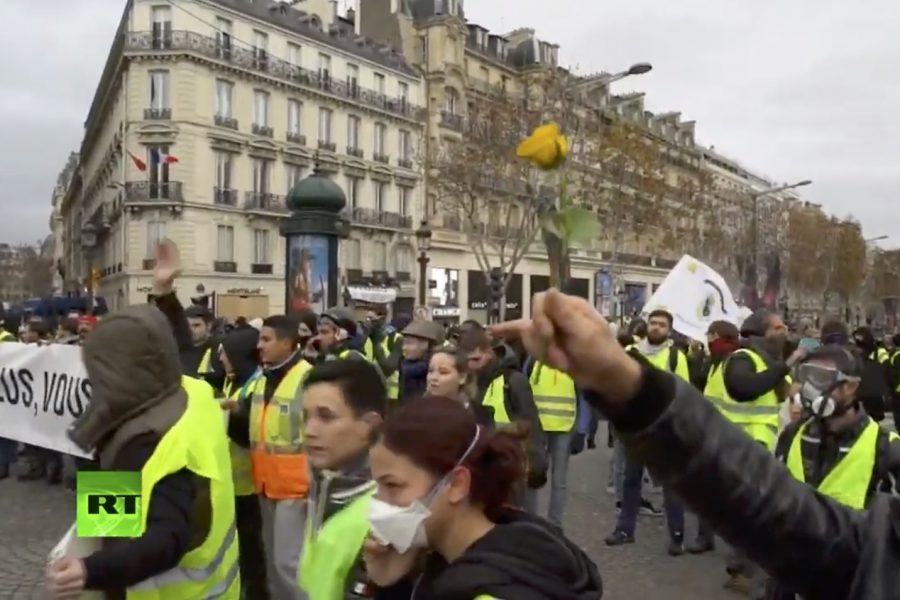 Vu et entendu des manifestations